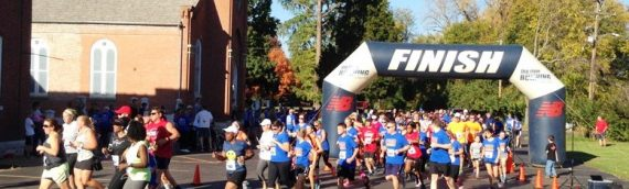 Race to the Shrine 5K Run/Walk on Sat. October 22