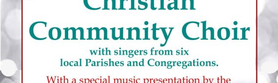 Annual Christmas Concert – Dec. 9