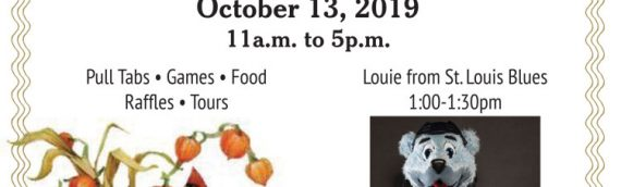 Fall Festival on October 13